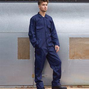 Portwest Stud Front Boiler Suit – Tall, Navy