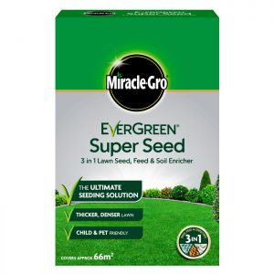 Miracle-Gro EverGreen Super Seed Lawn Seed - 66m²