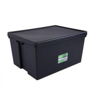 Wham Bam Recycled Heavy Duty Storage Box with Lid - 150 Litres