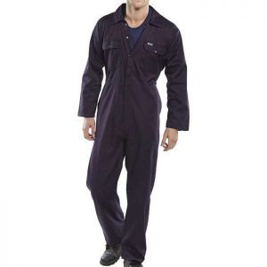 Super Click Workwear Boilersuit - Black