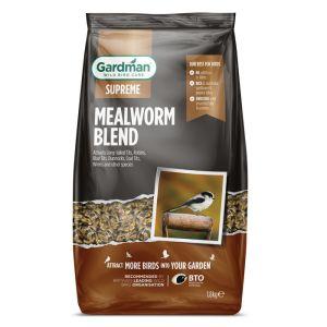 Gardman Supreme Mealworm Blend - 1.8kg