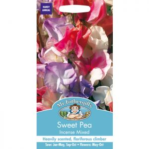 Mr Fothergill's Mixed Incense Sweet Pea Seeds