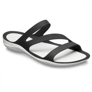 Crocs Women's Swiftwater Sandals - Black/White