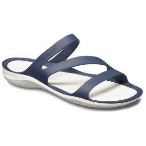 Crocs Women's Swiftwater Sandals - Navy/White