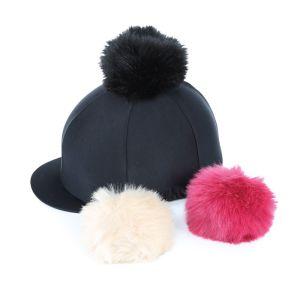 Shires Switch It Pom Pom Hat Cover - Black