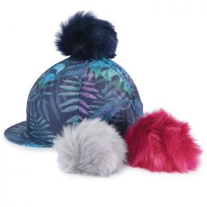 Shires Switch It Pom Pom Hat Cover - Tropical