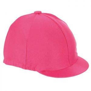 Shires Hat Cover - Raspberry
