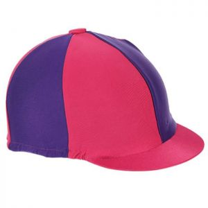 Shires Hat Cover - Raspberry/Purple