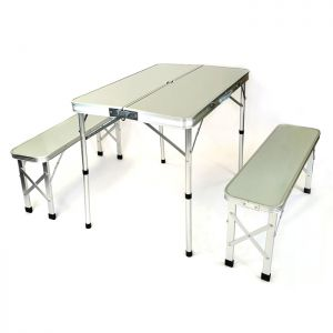 Wild Camping Malham Folding Picnic Table and Bench Set