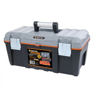 Tactix Mid-Grade Tool Box with Carry Tray - 21in