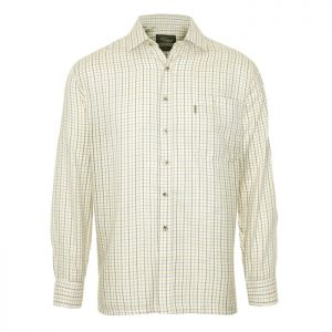 Champion Men's Tatersall Long Sleeved Shirt – Green
