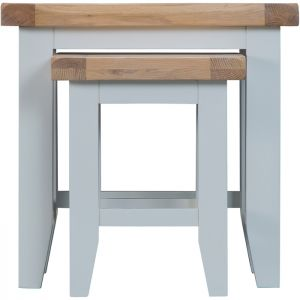 Taunton Grey Nest of 2 Tables