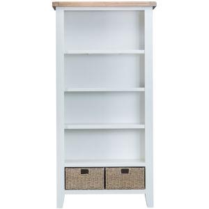Taunton White Tall Bookcase