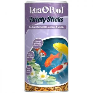 TetraPond Variety Sticks - 1 Litre