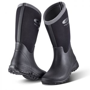 Grubs Women's Tideline 4.0 Wellington Boots - Black