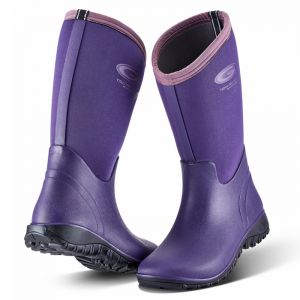 Grubs Women's Tideline 4.0 Wellington Boots - Plum