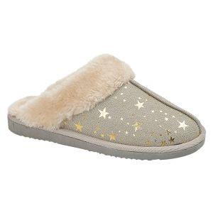 Jo & Joe Women's Tiggi Slippers - Light Grey