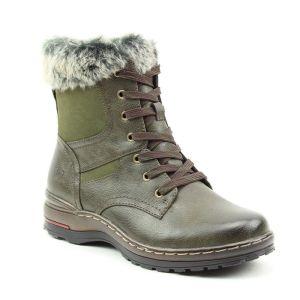 Heavenly Feet Women's Tiptoe Boots – Khaki