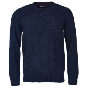 Barbour Men's Tisbury Crew Neck Sweater – Navy