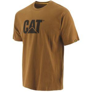 CAT Men's Trademark Logo T-shirt - Bronze