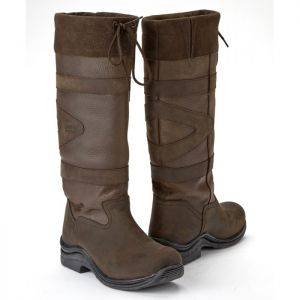 Toggi Canyon Boots, Wide Fit - Chocolate