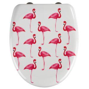 Wenko Toilet Seat - Flamingo