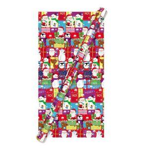 Tom Smith Santa & Friends Gift Wrap - 8m