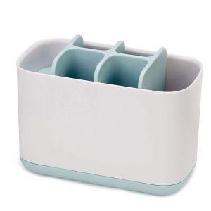 Joseph Joseph Toothbrush Caddy, Large - White/Blue