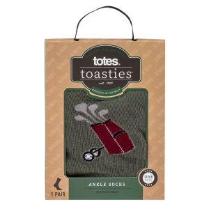 Totes Toasties Men's Socks – Golf