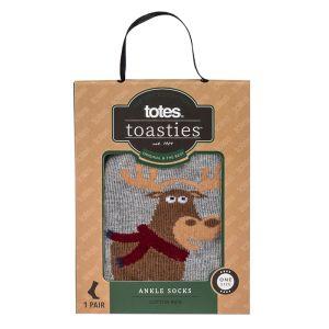 Totes Toasties Men's Socks – Moose