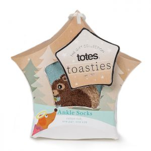 Totes Toasties Women's Socks – Squirrel