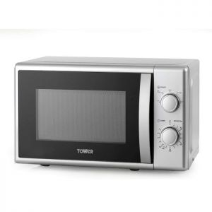 Tower T24034 Silver Microwave - 700W