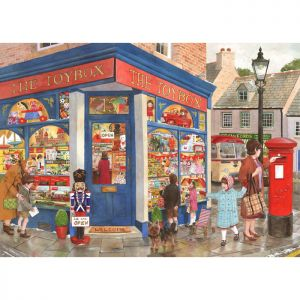 House Of Puzzles The Oakridge Collection MC539 Toybox Toys Jigsaw Puzzle - 1000 Piece