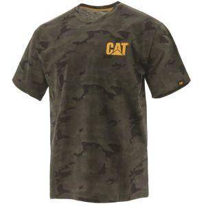 CAT Men's Trademark Tee - Night Camo