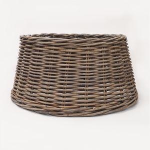 Wicker Christmas Tree Basket Ring