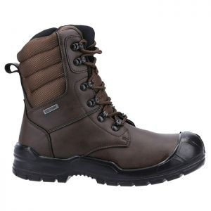 Dickies Men's Trenton Pro Safety Boots – Brown