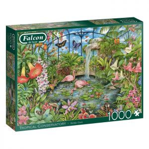 Tropical Conservatory Jigsaw Puzzle by Falcon – 1000 Pieces