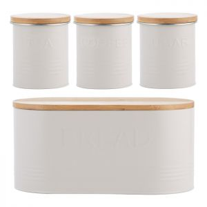 Typhoon Essentials 4 Piece Storage Set - Oatmeal