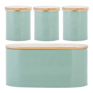 Typhoon Essentials 4 Piece Storage Set - Pistachio