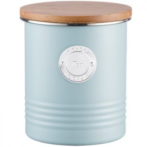 Typhoon Living Tea Canister  - Duck Egg