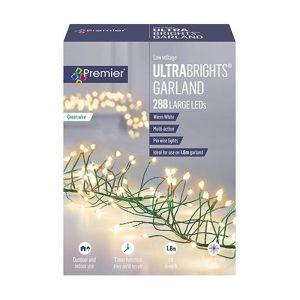 Premier 288 Ultrabright Garland LED Lights - Warm White