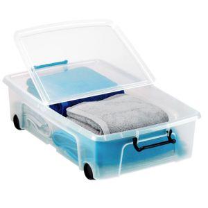 Strata Smart Storemaster Under Bed Plastic Box - 35L