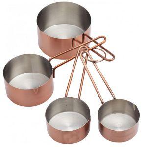 Master Class Copper Effect Measuring Cup Set - 4 Piece