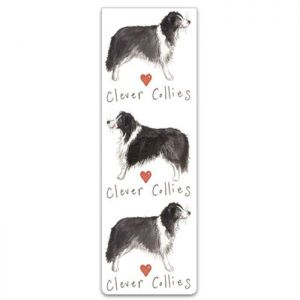 Alex Clark Clever Collies Dog Magnetic Bookmarks