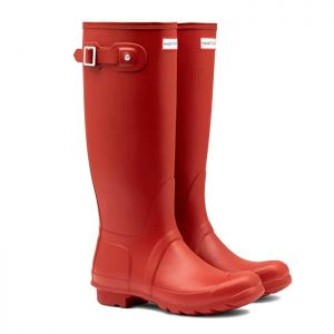 Hunter Women's Original Tall Wellington Boots - Military Red