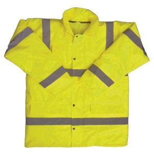 Utah Hi-Vis Motorway Jacket - Yellow