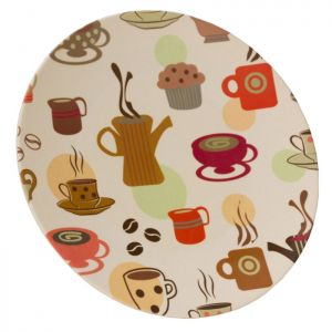 Vango Bamboo Dinner Plate - Coffee Cup