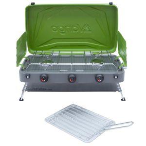 Vango Combi IR Grill Compact, Herbal Green – 2021
