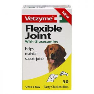 Vetzyme Flexible Joint Tablets with Glucosamine - Pack of 30 Tablets