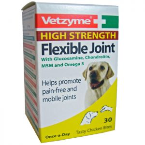 Vetzyme High Strength Flexible Joint Tablets - Pack of 30 Tablets